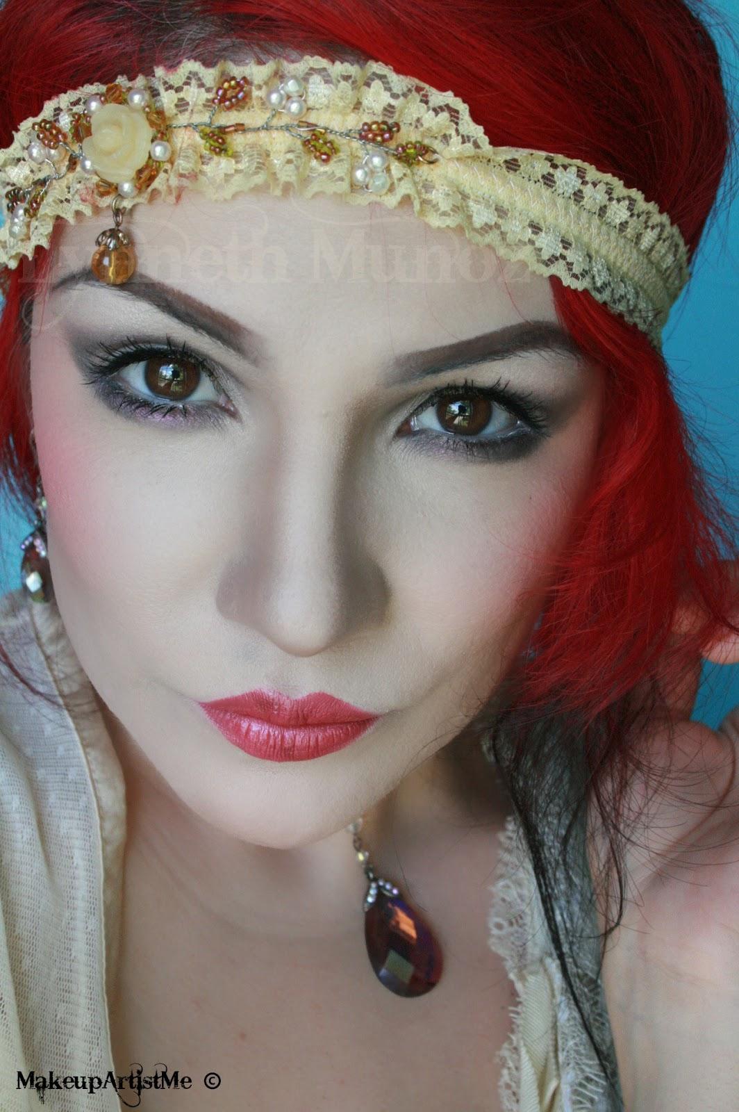 Make Up Artist Me 1920s Makeup