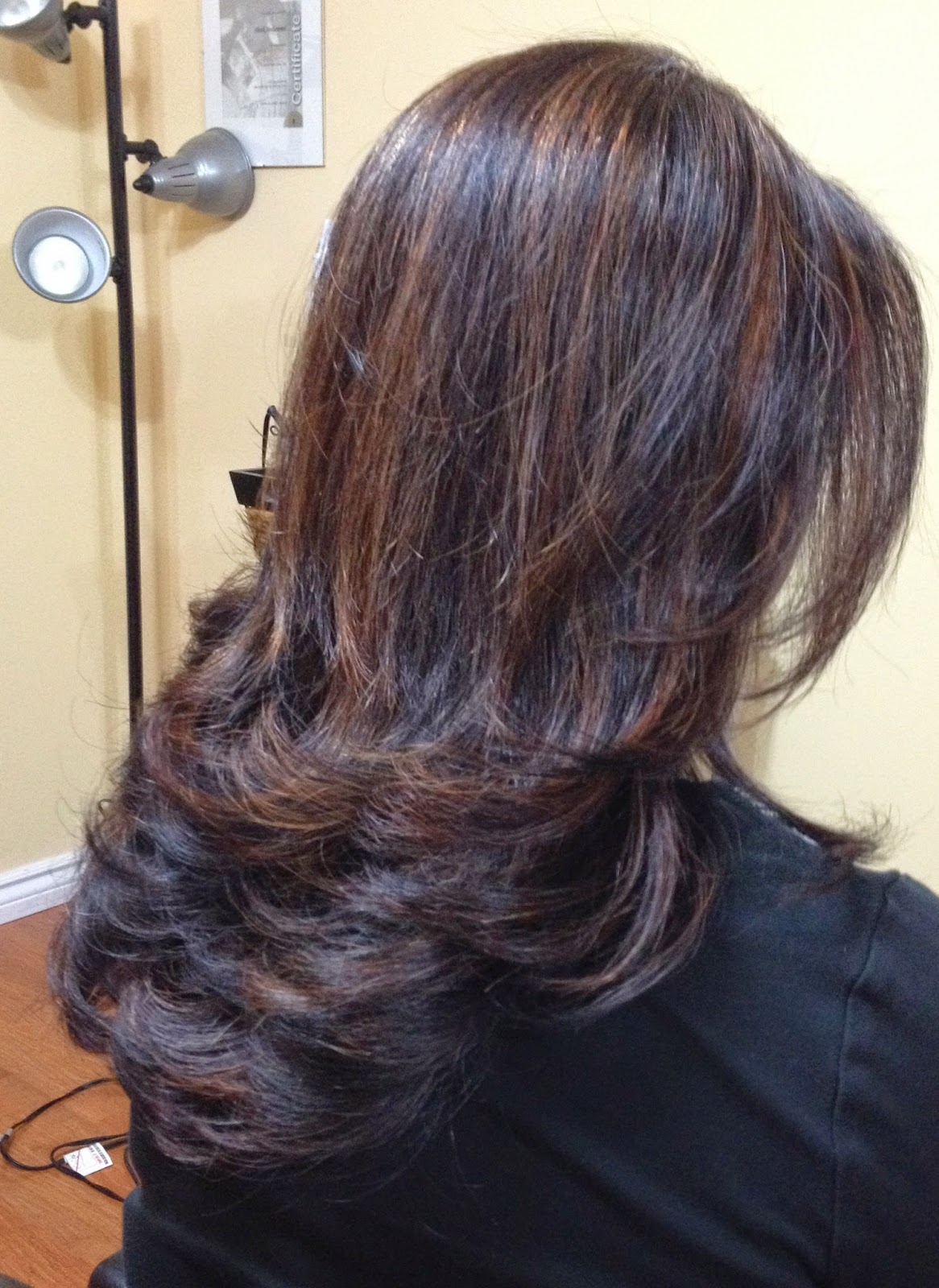 Shorouq Salon Keratin Smoothing Treatment Highlights Amp Cut