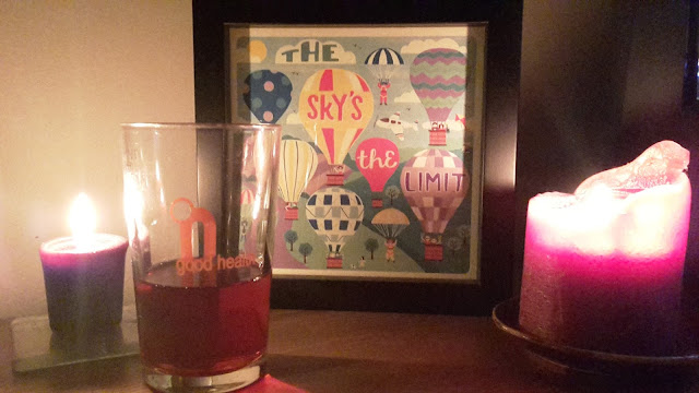Project 365 2015 day 282 - Sloe gin & candles // 76sunflowers