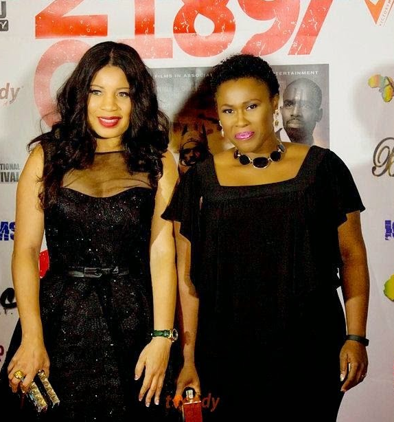 Monalisa Chinda and Uche Jombo Step Out In Style For Movie Premiere – Photos