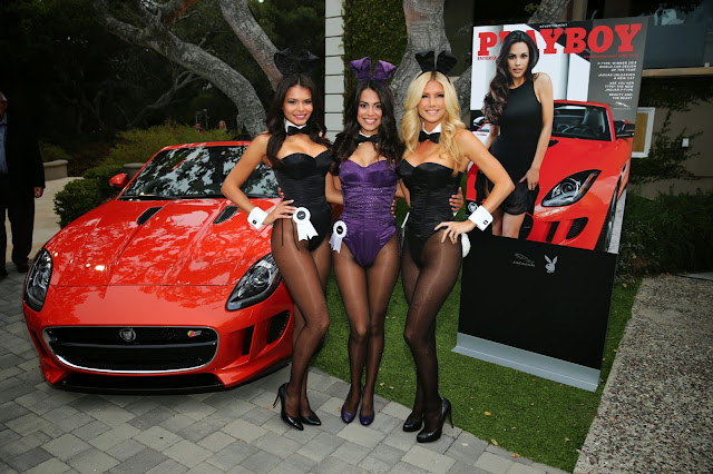 Jaguar and Playboy Throw a Party
