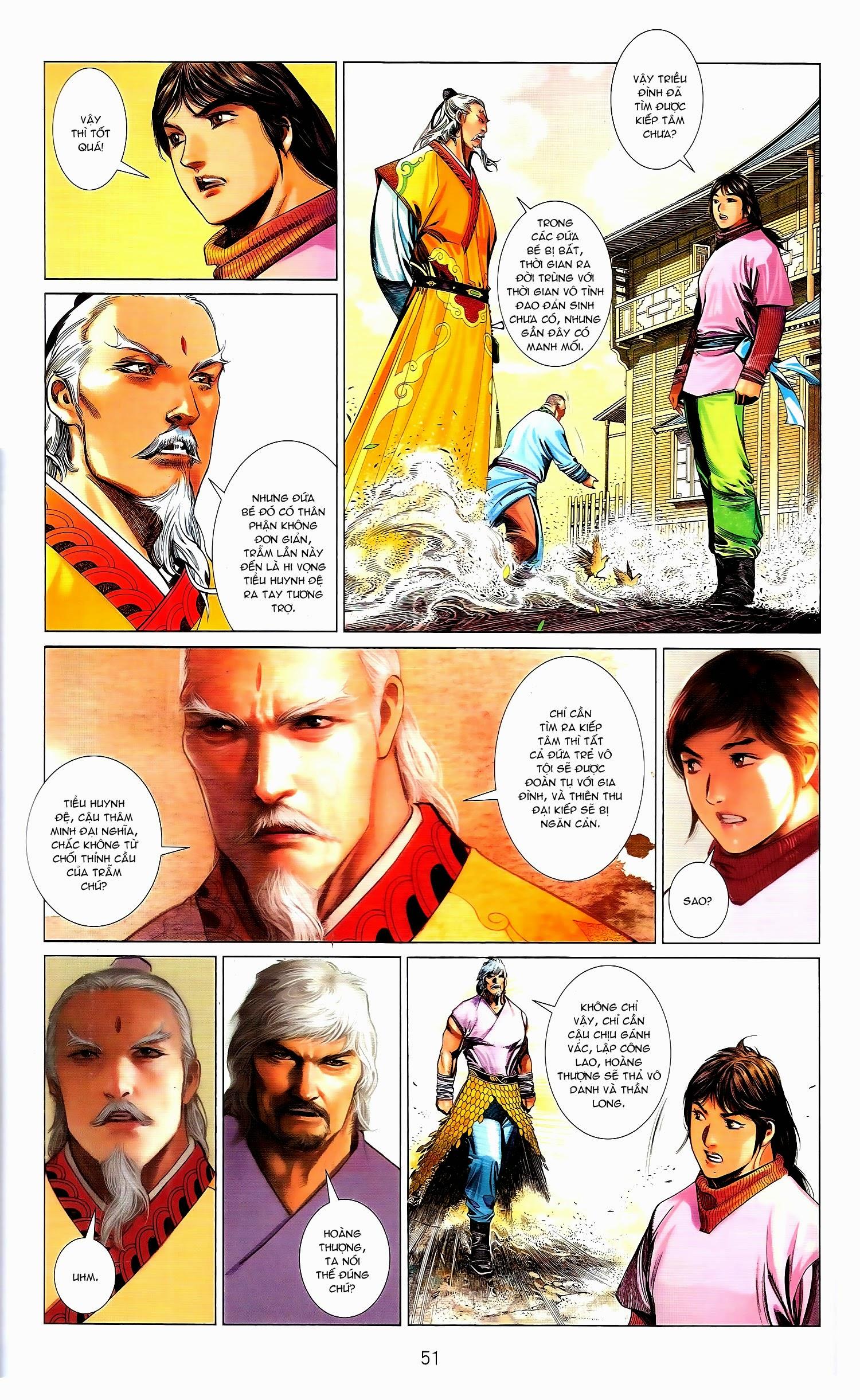 Phong Vân chap 671B Trang 22 - Mangak.info