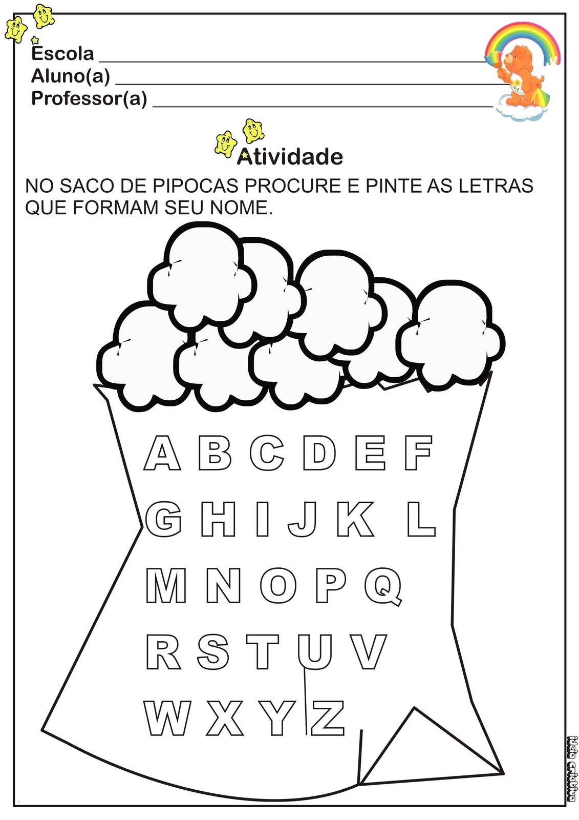 Atividade Festas Juninas Educacao Infantil Atividade Numero E