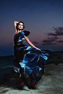 Martina Tasevska for Biljana Karan Fashion Editorial