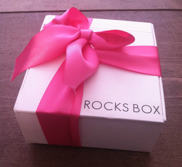 Rocks Box Review - Monthly Jewelry Rental Subscription Box - August 2012