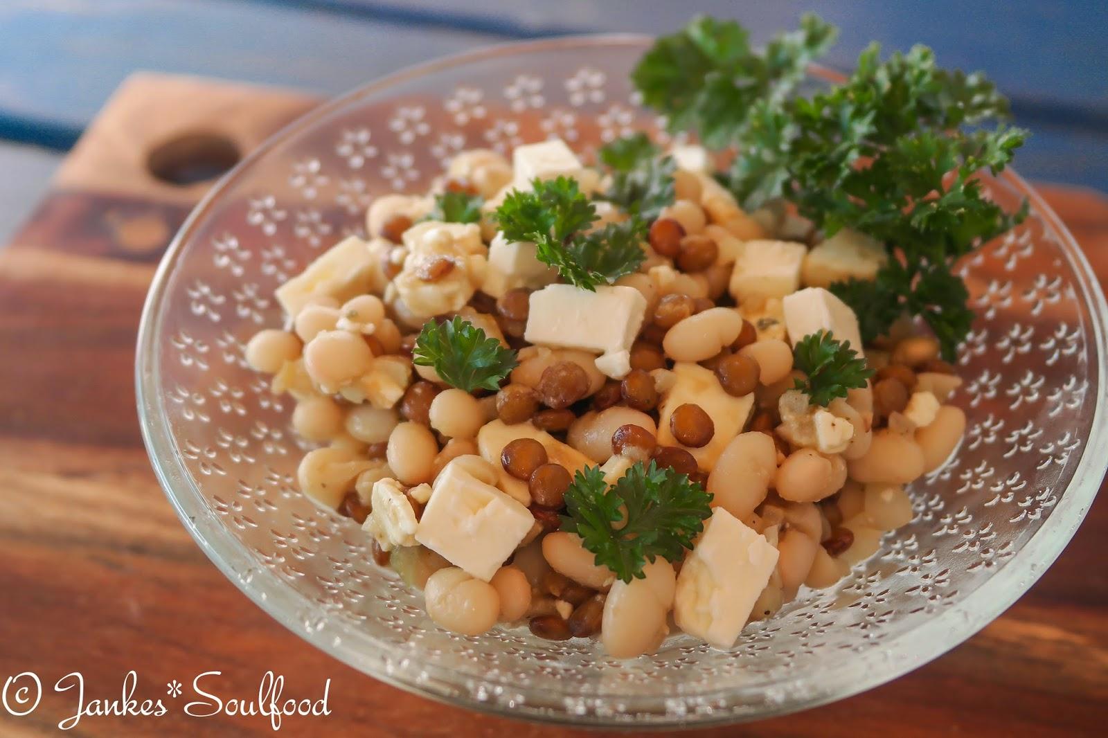 Bohnen-Linsen-Salat - Jankes*Soulfood