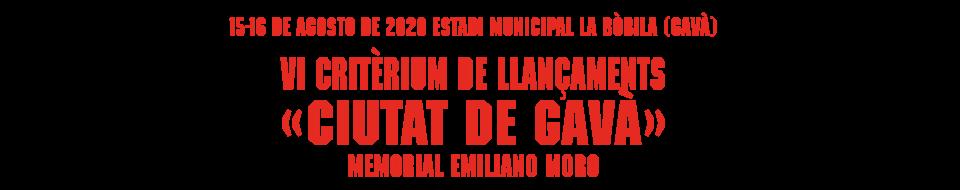 Critèrium de Llançaments «Ciutat de Gavà»
