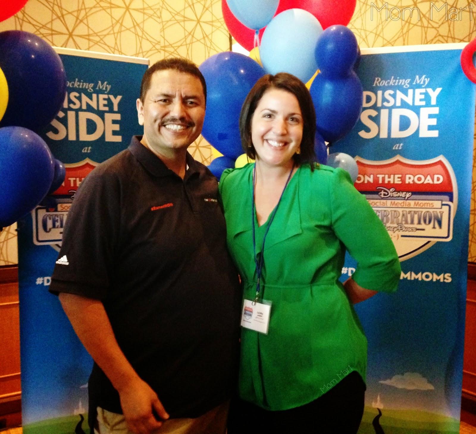 Disney OTR Celebration in Chicago #DisneyOTR #DisneySMMedia #RamonDeLeon #RamonWow #MomMart