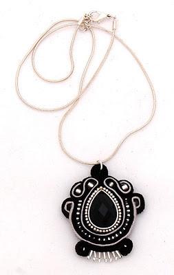 sutasz naszyjnik wisiorsoutache pendant necklace 1a