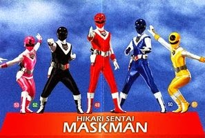 Phim Siêu NhânChiến Đội Ánh Sáng -Hikari Sentai Maskman