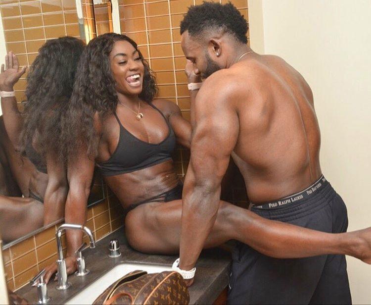 U.S Based Nigerian Fitness Model & Boyfriend Show Off ...