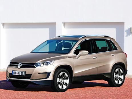 carro on Volkswagen Tiguan 2014