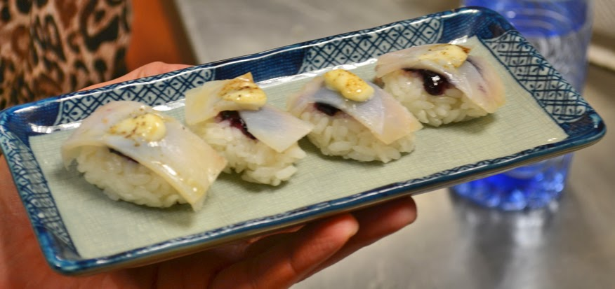 sushi - Festival Hanami reyno de los mallos - Venta del Soton