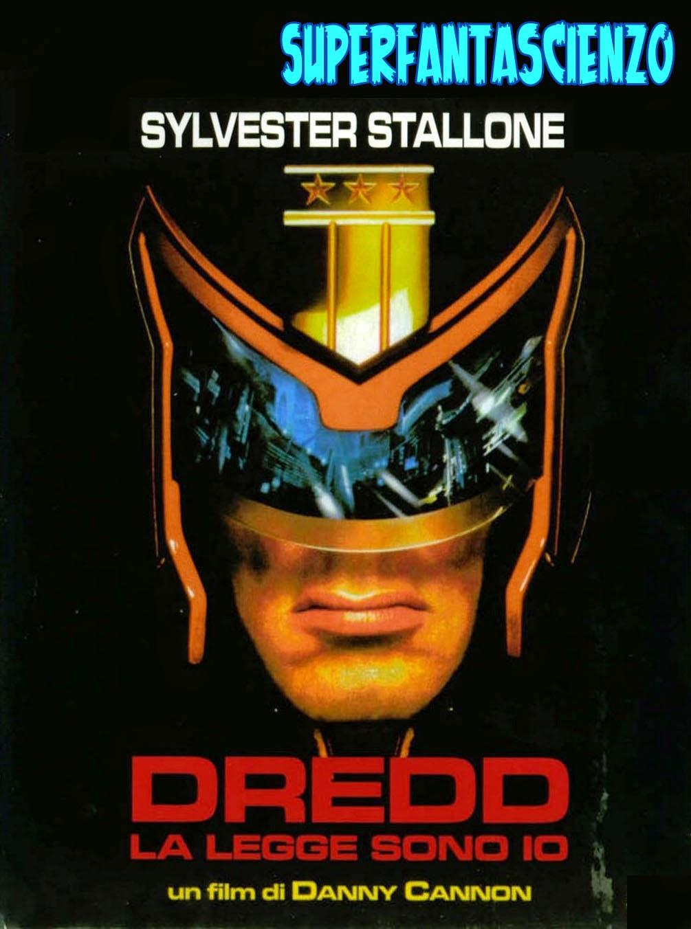 Dredd la legge sono io Stallone recensione poster