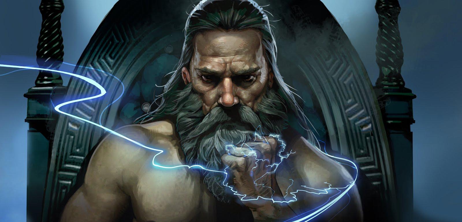 Zeus by Brian Matyas :... Zeus Digital Painting