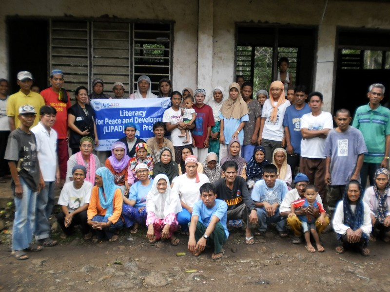 These are among our 1200 Adult learners in Basilan who graduated last Sep.8, ...