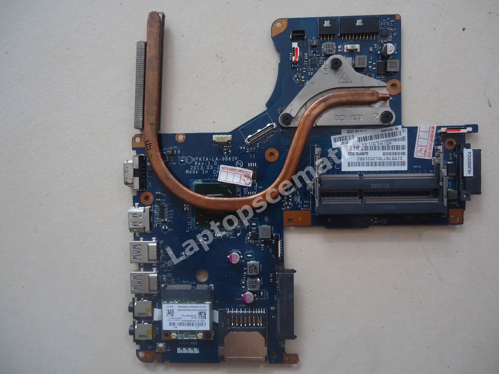 Motherboard Toshiba L40 Mainboard Code Vfkta