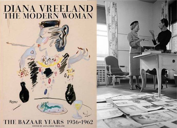 Best fashion and style book releases in autumn / fall 2015 / Diana Vreeland: the modern woman, bazaar years biography / via fashionedbylove.co.uk british fashion blog