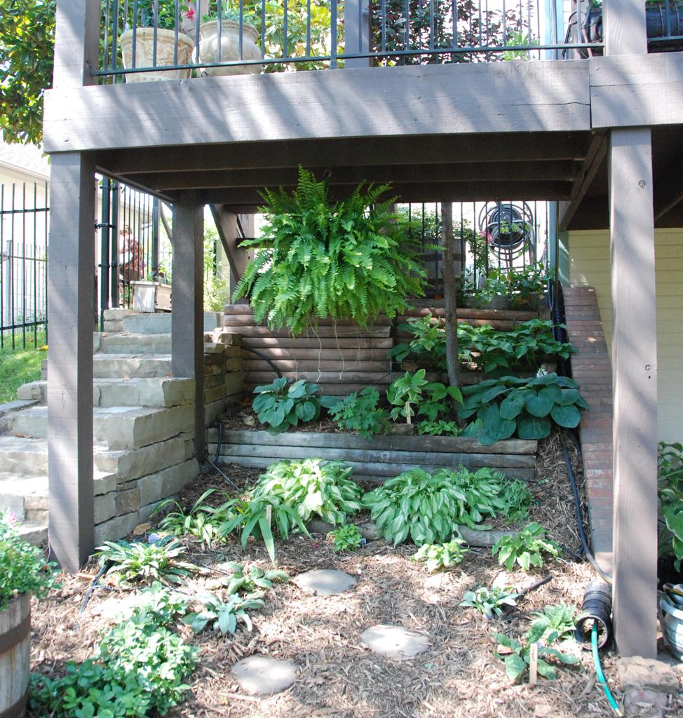 Under Deck Garden Ideas : Gaia garden tours
