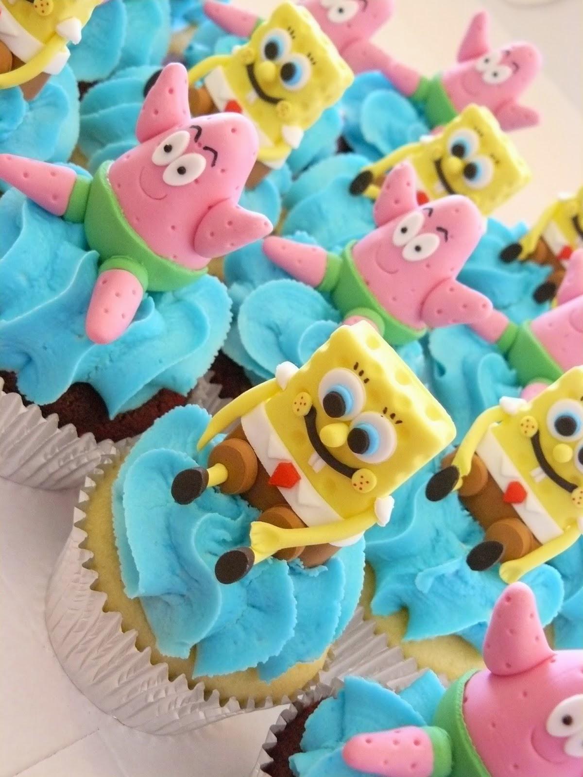 SpongBob Cupcakes
