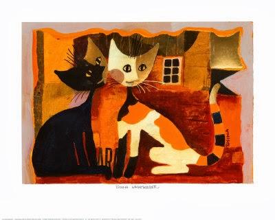 los gatos de rosina wachtmeister. Black Bedroom Furniture Sets. Home Design Ideas