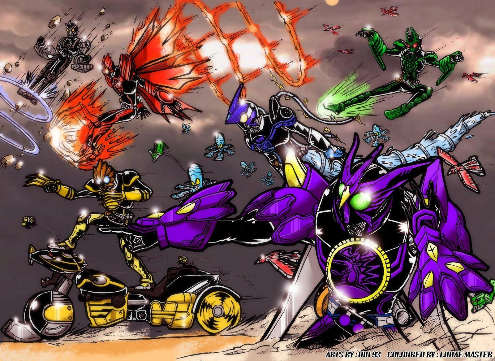 Kamen Rider OOO Final Form Revealed?! - JEFusion