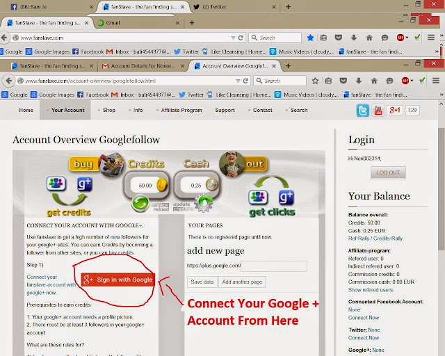 How To Earn With Facebook,Twiter,Google+. Youtube