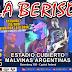 La Beriso llega al Estadio Malvinas Argentinas: #VivoPorLaGloria