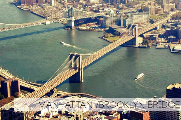 Manhattan Bridge, Brooklyn Bridge