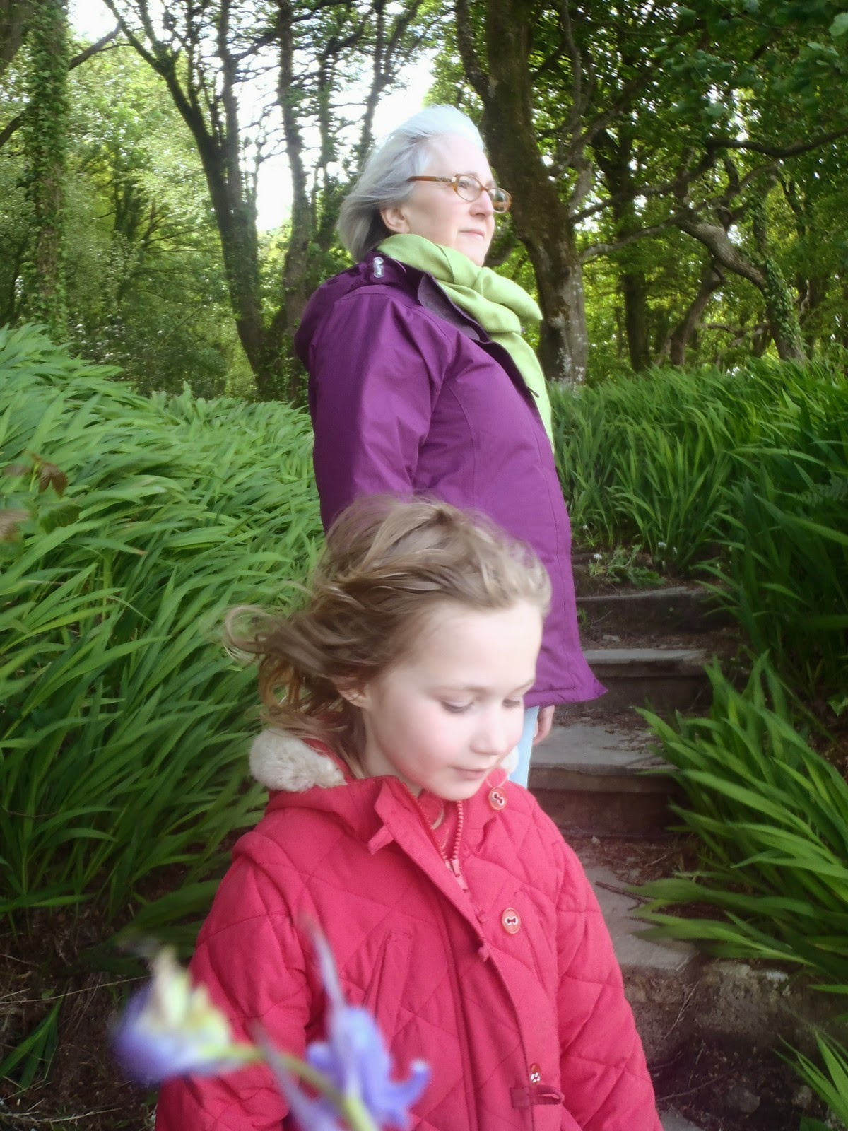 dreaming aloud i remember walking the bluebell woods my granny now my girls get to do the same