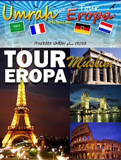 Paket Wisata Muslim ke Eropa - Pin BB 24EE171B
