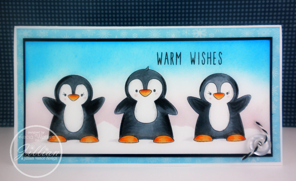AJVD, Whimsie Doodles, Kecia Waters, penguins