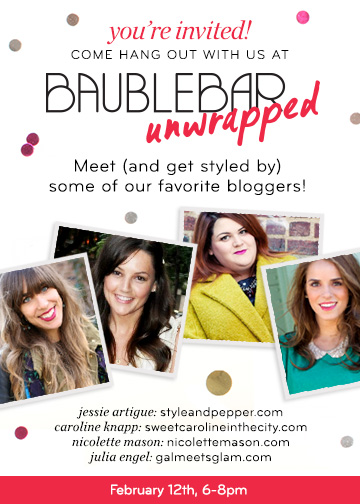 StyleAndPepperBlog.com : : Event // Bauble Bar Unwrapped