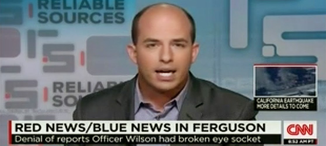 """CNN's Reliable Sources Slams Fox For """"Rush To Report Anonymous Claims"""" About Questionable Ferguson Officer Injury"""