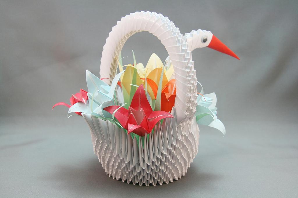 Tiny Origami Basket tutorial  Origami Mommy