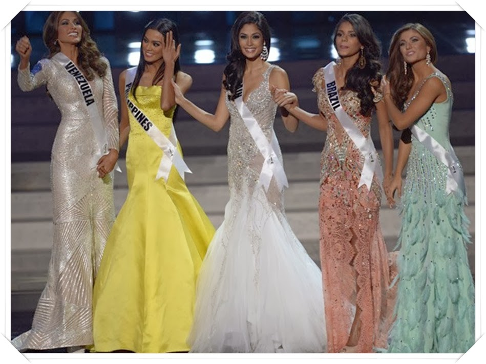 TOP 05 MISS UNIVERSO 2013