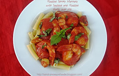 Roasted Shrimp Marinara
