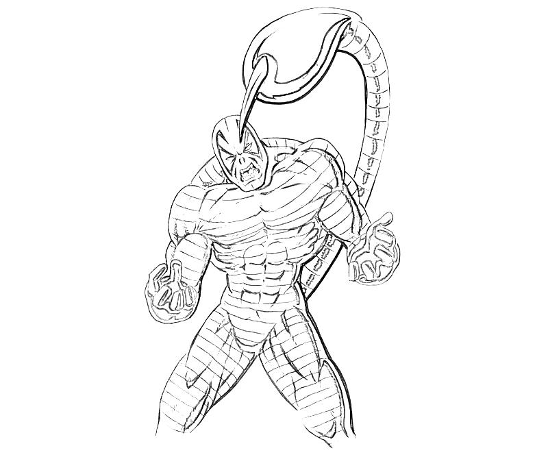 printable-the-amazing-spider-man-scorpion-sketch-coloring-pages
