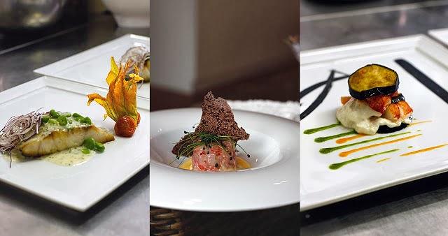 La rosa bulgara presentazione piatti ristorante alta for Piatti decorati