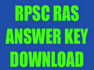 rpsc-ras-answerkey