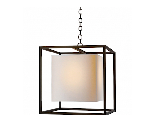 copy cat chic visual comfort eric cohler caged lantern. Black Bedroom Furniture Sets. Home Design Ideas
