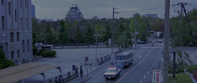 Замок Осаки в фильме Черный дождь 1989
