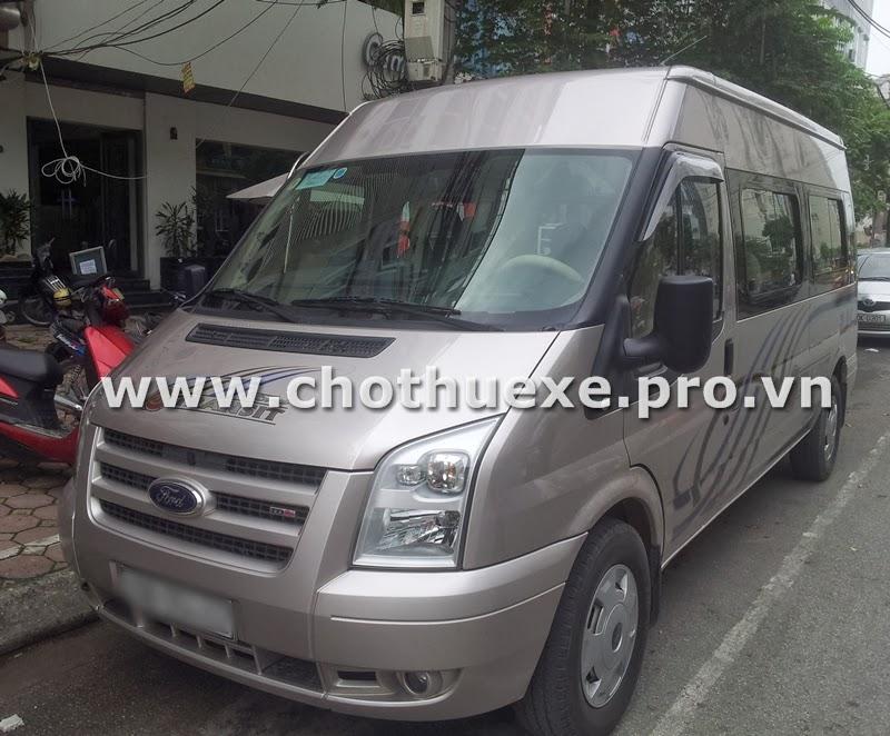 Cho thuê xe 16 chỗ tại Hà Nội giá rẻ du lịch lễ hội 1