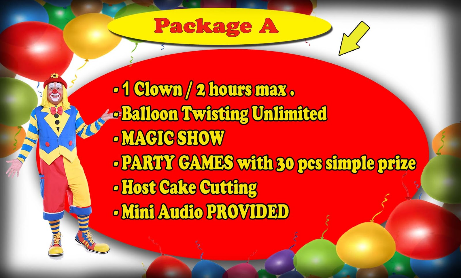 Welcome to Clown Badut Service in Malaysia KL Shah Alam Selangor