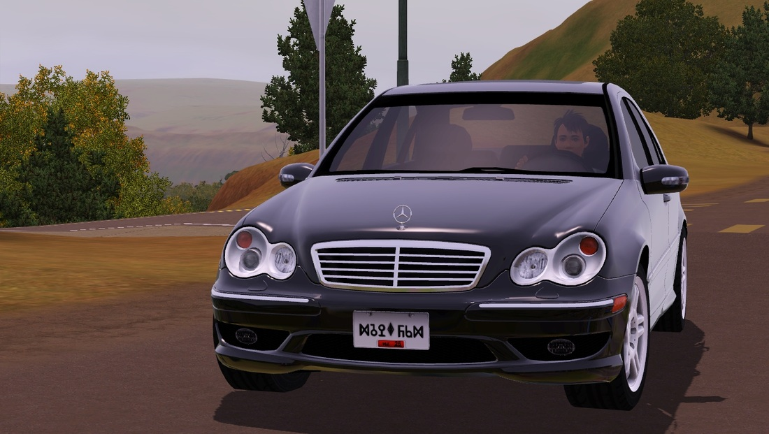 my sims 3 blog 2004 mercedes benz c32 amg by understrech. Black Bedroom Furniture Sets. Home Design Ideas
