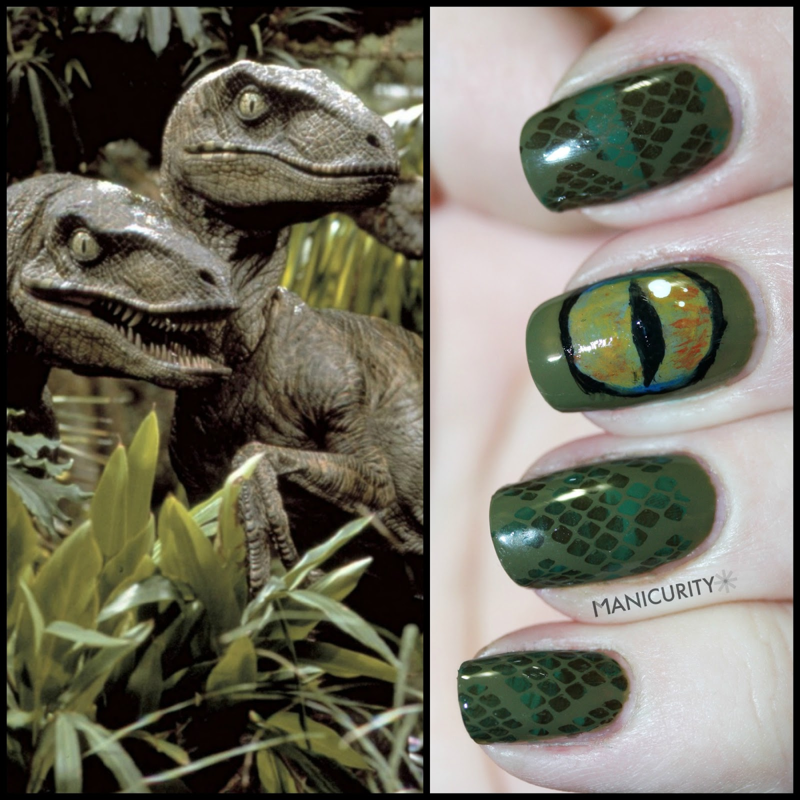 5 Killer \'Jurassic Park\' Manicures To Celebrate Its 20th Anniversary ...