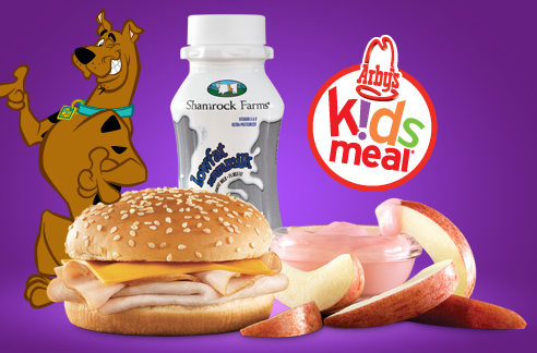Arbys 99 Kids Meal Coupon Scooby Doo Toys DVD Rebate Offer
