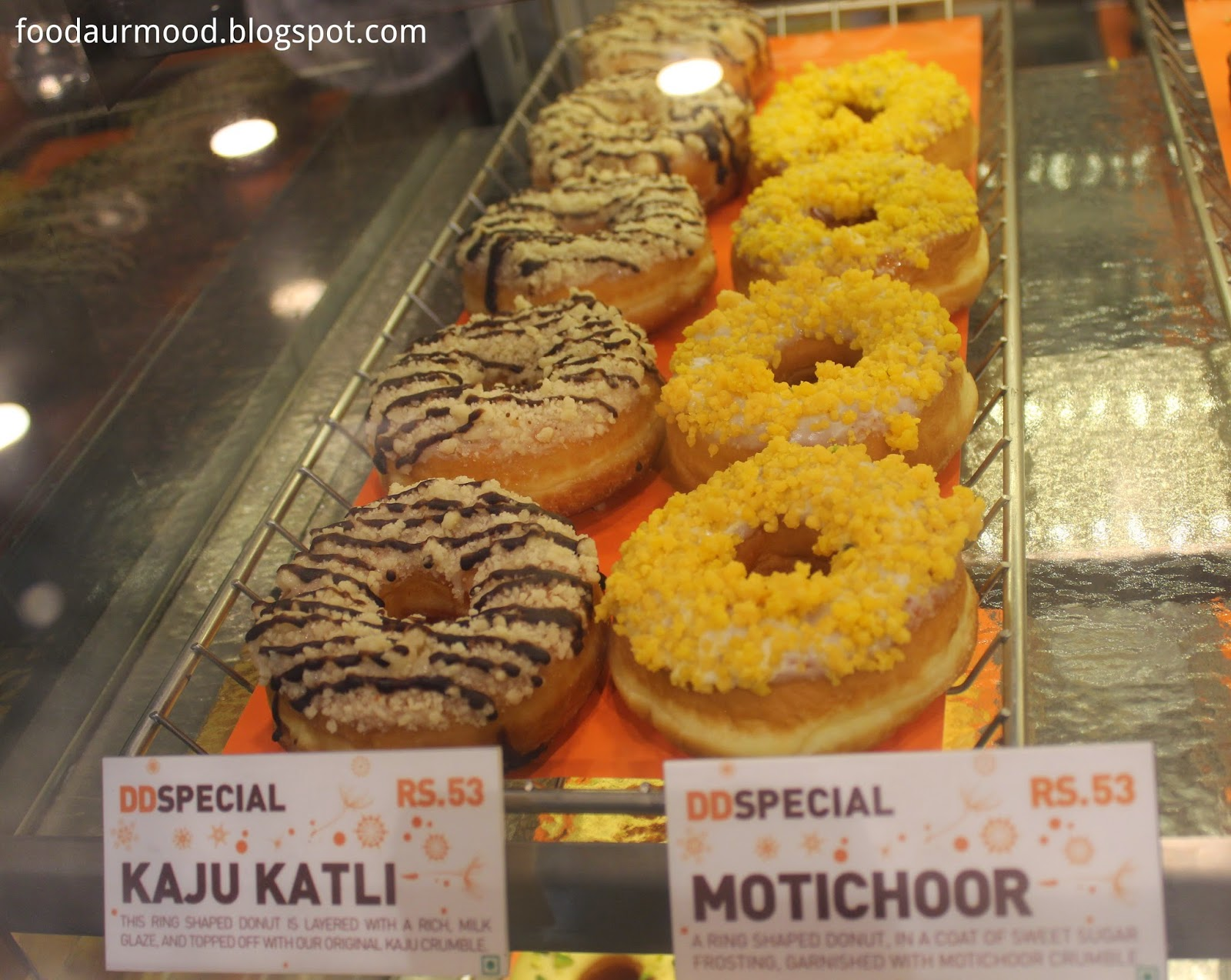 Dunkin Donuts India, CP, Donuts