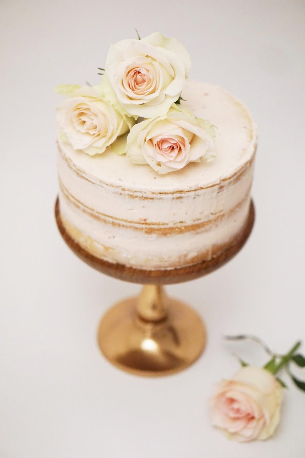 Eve s fika: Strawberry Champagne Birthday Cake