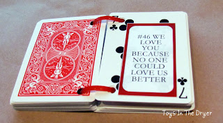 deck of cards reasons we love you